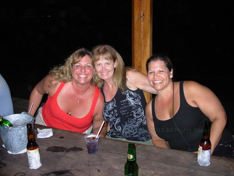 Ladies at Joe's Oyster Bar in Mazatlán, Sinaloa, Mexico